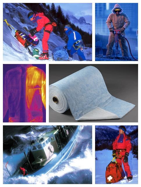 przykłady zastosowań włóknin tinsulate [włóknina ocieplająca Thinsulate™]